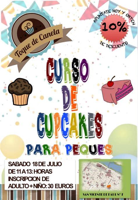 cursos de decoracion de eventos curso de decoraci 243 n de cupcakes para ni 241 os agenda