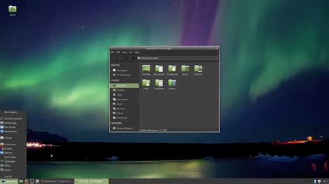 desktop themes linux a look at desktop environments xfce ghacks tech news