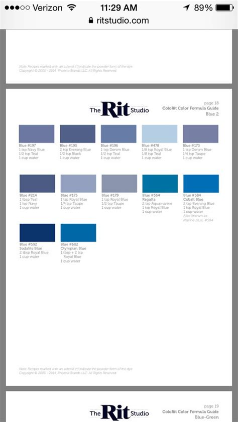 rit dye color mixing chart rit color dye charts color mixing colors