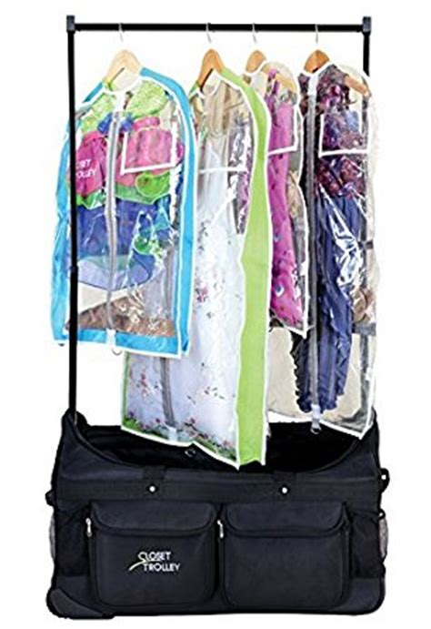 Duffel Bag With Rack by Closet Trolley Bag With Garment Rack