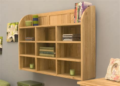 wall storage units conran solid oak reversible cd dvd storage wall rack