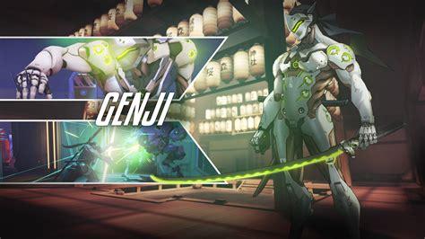 genji overwatch wallpapers hd wallpapers id