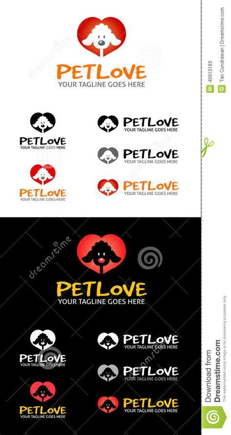 make your logo a sticker pet symbol stock vector illustration of shop lover 40913183
