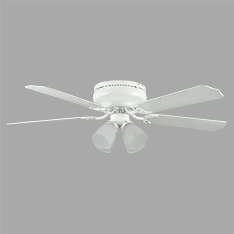 52 white ceiling fan concord fans heritage fusion series 52 in indoor white
