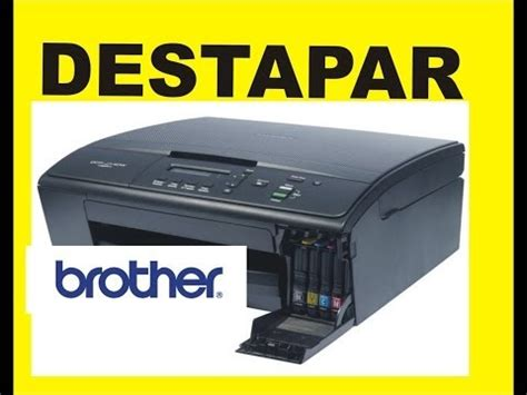 error brother dcp j125 printer ink absorber full signal reset brother counter purge mfc j6510dw ink absorber full