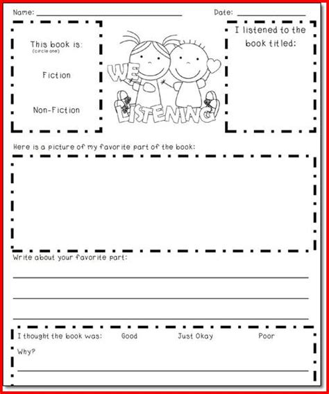 Reading Response Worksheets by Free Worksheets 187 Reading Response Worksheets Free Math