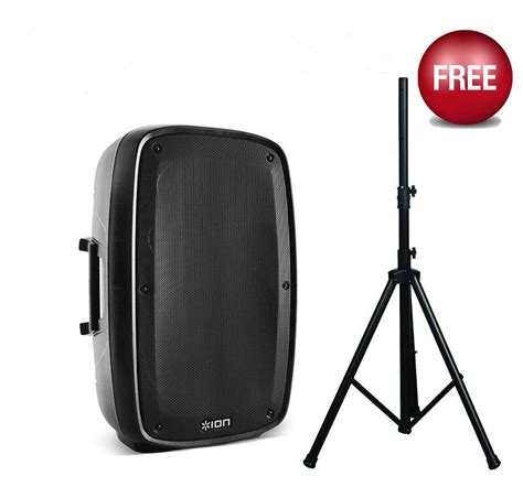 Multi Function Wireless Portable Pa Sound System ion total pa plus multi function bluetooth 350 watt pa