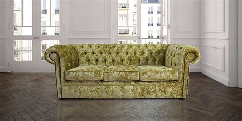 chartreuse velvet sofa buy green velvet chesterfield sofa at designersofas4u