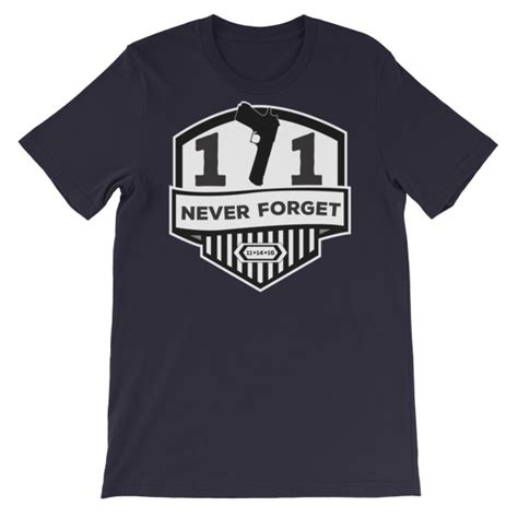 Kaos Fashion T Shirt Never Forget 171 never forget unisex sleeve t shirt we like shooting
