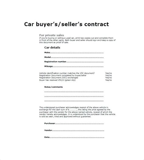 Sold As Seen Receipt Template by Sold As Seen Receipt Click To Enlarge Used Car Receipt