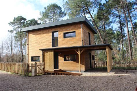Maison témoin Saumos Meison Maison individuelle en bois