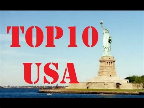 best states to visit in usa visit america top 10 cities in the usa youtube