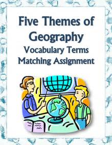 five themes of geography homework mister mitchell s education resources teaching resources