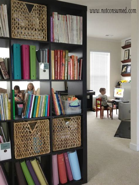 my favorite organized space be my guest with denise organizing homeschool family room homeschooling pinterest