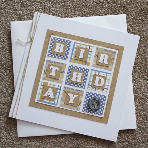 Masculine Handmade Cards - image result for handmade masculine birthday cards