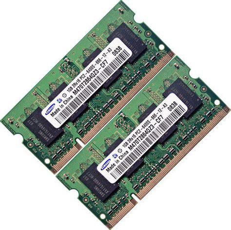 laptop ram memory 2gb 2x1gb ddr2 memory ram upgrade acer aspire 7000