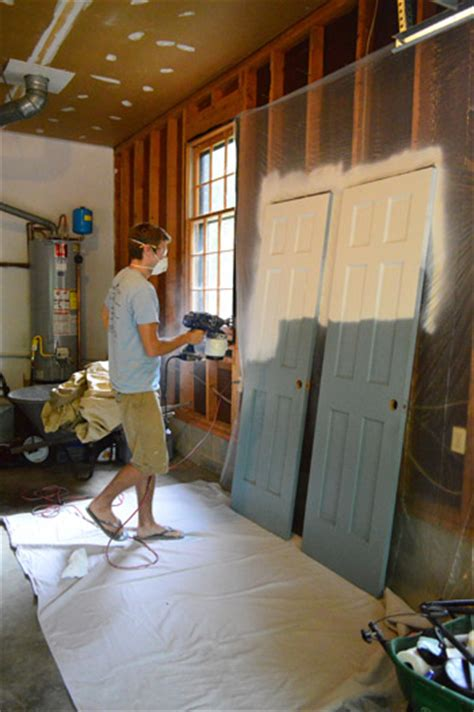 best paint sprayer for cabinets and doors priming and painting trim with a paint sprayer and by hand