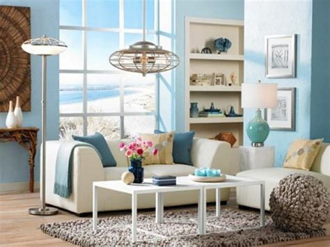 Beachy Room Decor Living Room Decorating Ideas