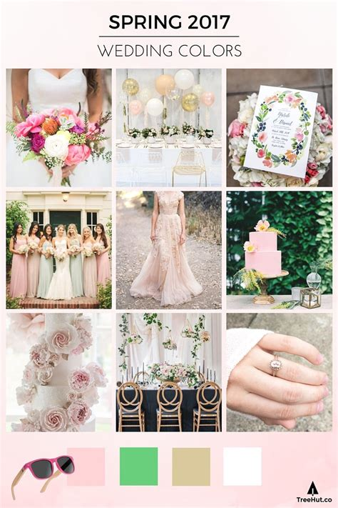 april wedding colors 2017 walk down the aisle in 2017 s popular wedding colors