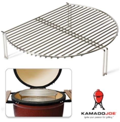 kamado joe stainless steel grill expander