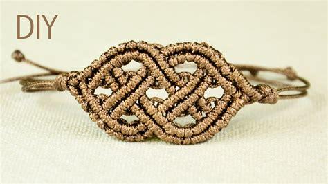 Macrame Bracelet With Pictures - celtic style macrame bracelet