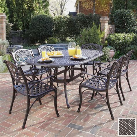 Patio Furniture Metal Sets Vintage Outdoor Patio Furniture Sets Garden Table And Chairs Black Wrought Iron In Outdoor Patio