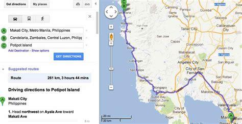 iba zambales resort map travel diaries potipot island zambales aimee guerrero