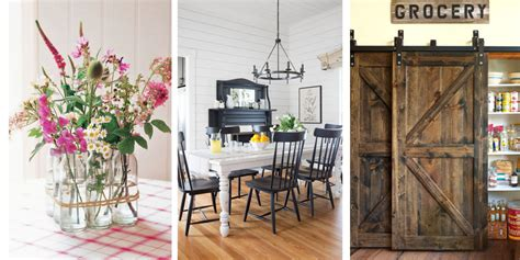 farmhouse style home decor 25 ways to add farmhouse style to any home rustic