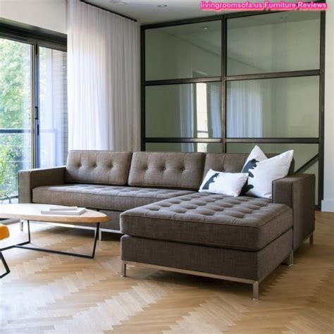 Tufted Apartment Sofa by Fascinating Tufted Nail Button Seat Apartment Sectional Sofa