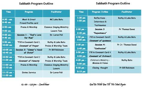Church Leadership Outline by Makana Seventh Day Adventist Church Announcement Childrens Ministry Cordinators Retreat Pau