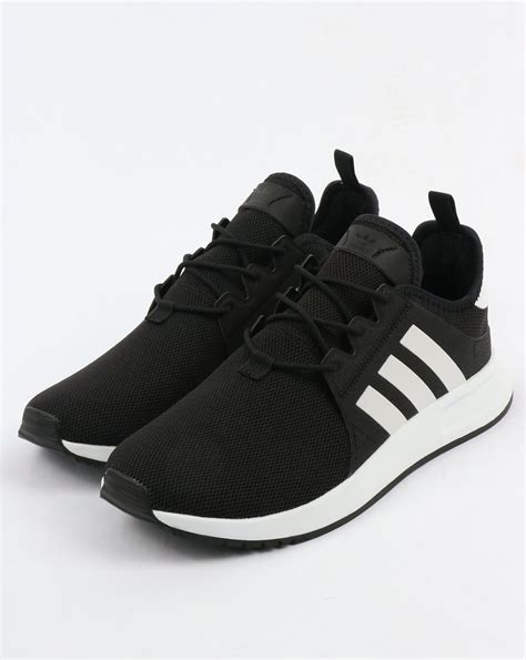 adidas xplr trainers black white originals shoes running lightweight