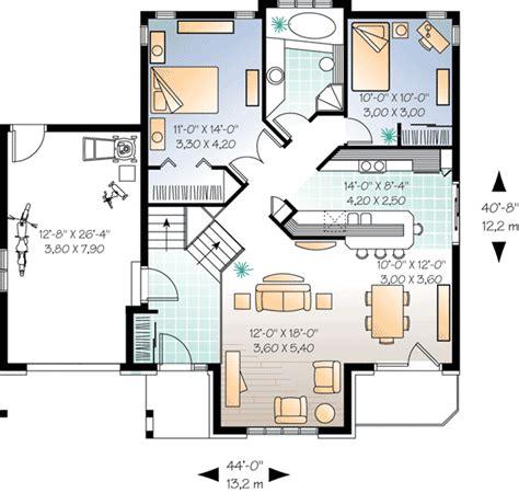 four level split house plans attractive split level house plan 21329dr