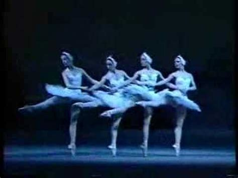dance of the swans swan lake act2 dance of the little swans youtube