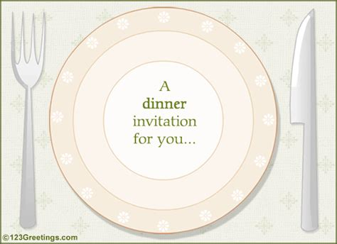 dinner invitation invitations food drink cards free invitations food