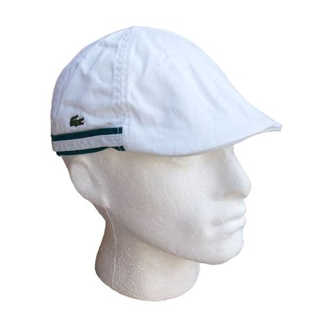 Flat Lacoste lacoste flat cap golf white rk1904