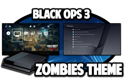 themes ps4 black ops 3 ps4 themes call of duty black ops 3 zombies theme video