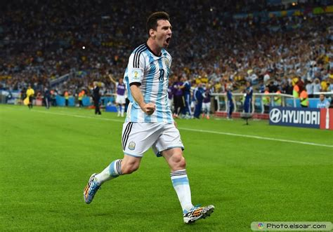 Argentina World Cup 2014 by Lionel Messi With Argentina In The 2014 World Cup Photos