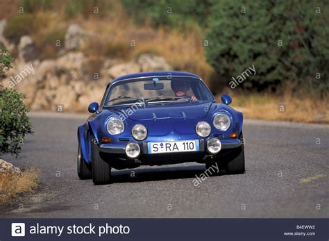 renault sports car car renault alpine a110 sports car coup 233 coupe blue