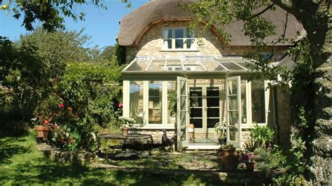 thatched cottage and garden rooms thatch cottage conservatory david salisbury