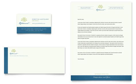 business card template microsoft word senior living community business card letterhead