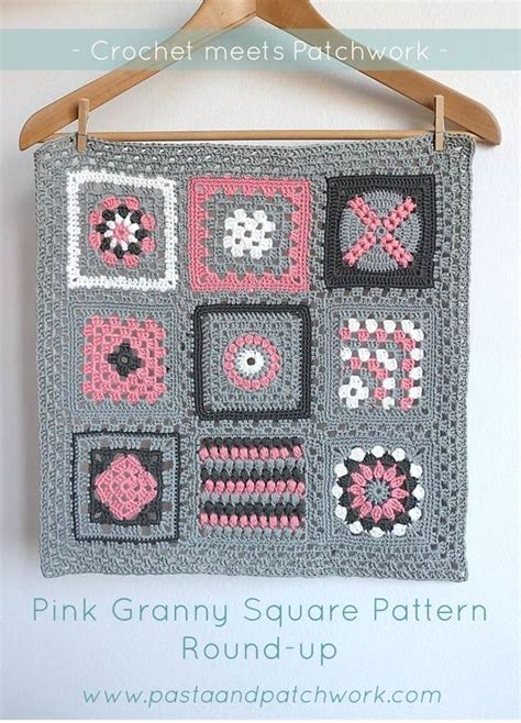 Patchwork Square Afghan - 29 best crochet meets patchwork afghan images on