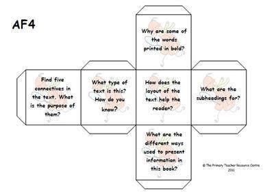 printable guided reading dice 17 best images about reading groups guided reading ideas
