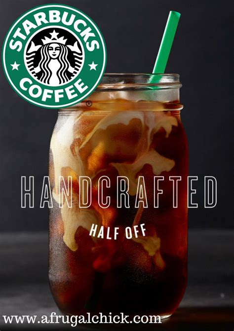 Handcrafted Beverage Starbucks - 50 starbucks handcrafted beverage members only