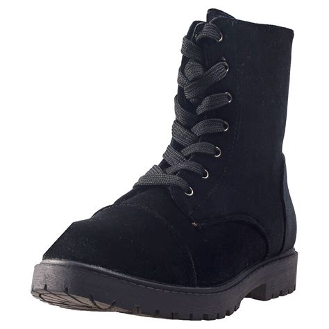 city boots city shoes dm boots velvet womens boots in black
