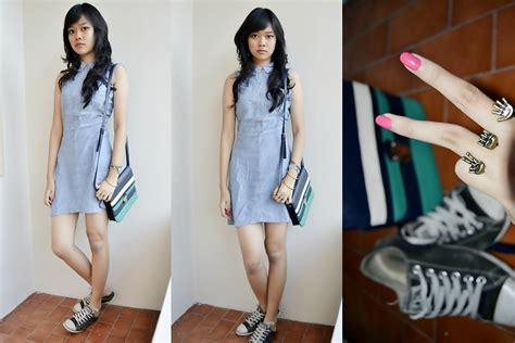 Zhafira Dress ardilla zhafira new look bag doublering converse shoes