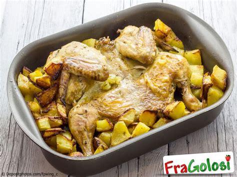 cucinare il pollo a pezzi pollo in forno ricetta di fragolosi