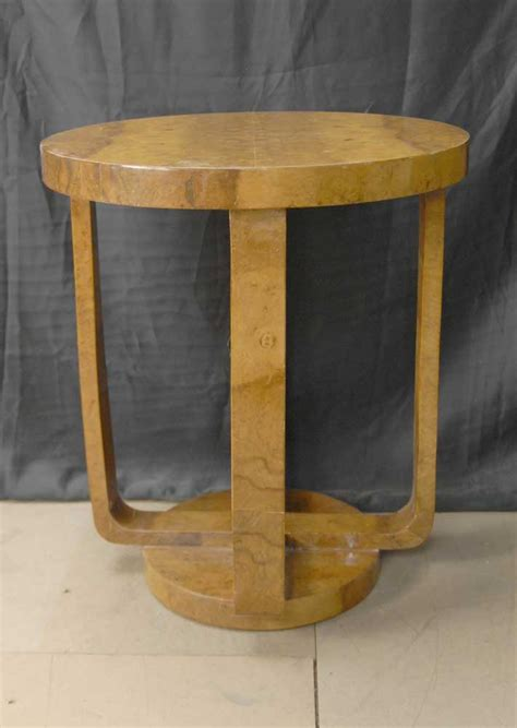 deco side table walnut deco side table tables occasional