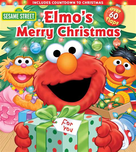sesame street elmo s merry christmas book by sesame