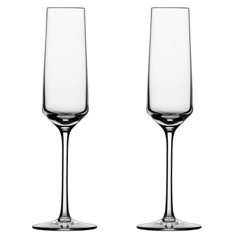 Flute Wine Glasses Schott Zwiesel Chagne Glasses Flute Set Of 2