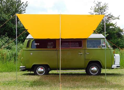 vw t2 awning vw type 2 t25 cervan sun canopy awning sierra yellow